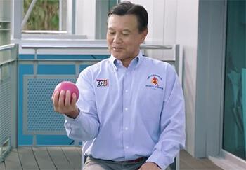 Eccentric exercise workout with Professor Ken Nosaka