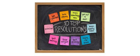 Sticking to your New Year's resolutions