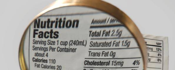 Nutrition for lowering cholesterol levels