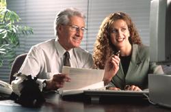 Office ergonomics: preventing muscle strain