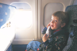 Staying healthy during plane travel