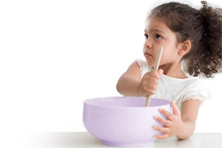 Nutrition from age two to five
